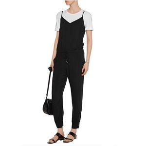 Splendid Black Drawstring Jumpsuit, Small